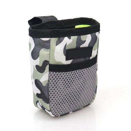Waterproof Mesh Dog Bowl Snack Bag Folding Travel Bowl Portable Dog Training Bag Dog Snack Bag Training kit