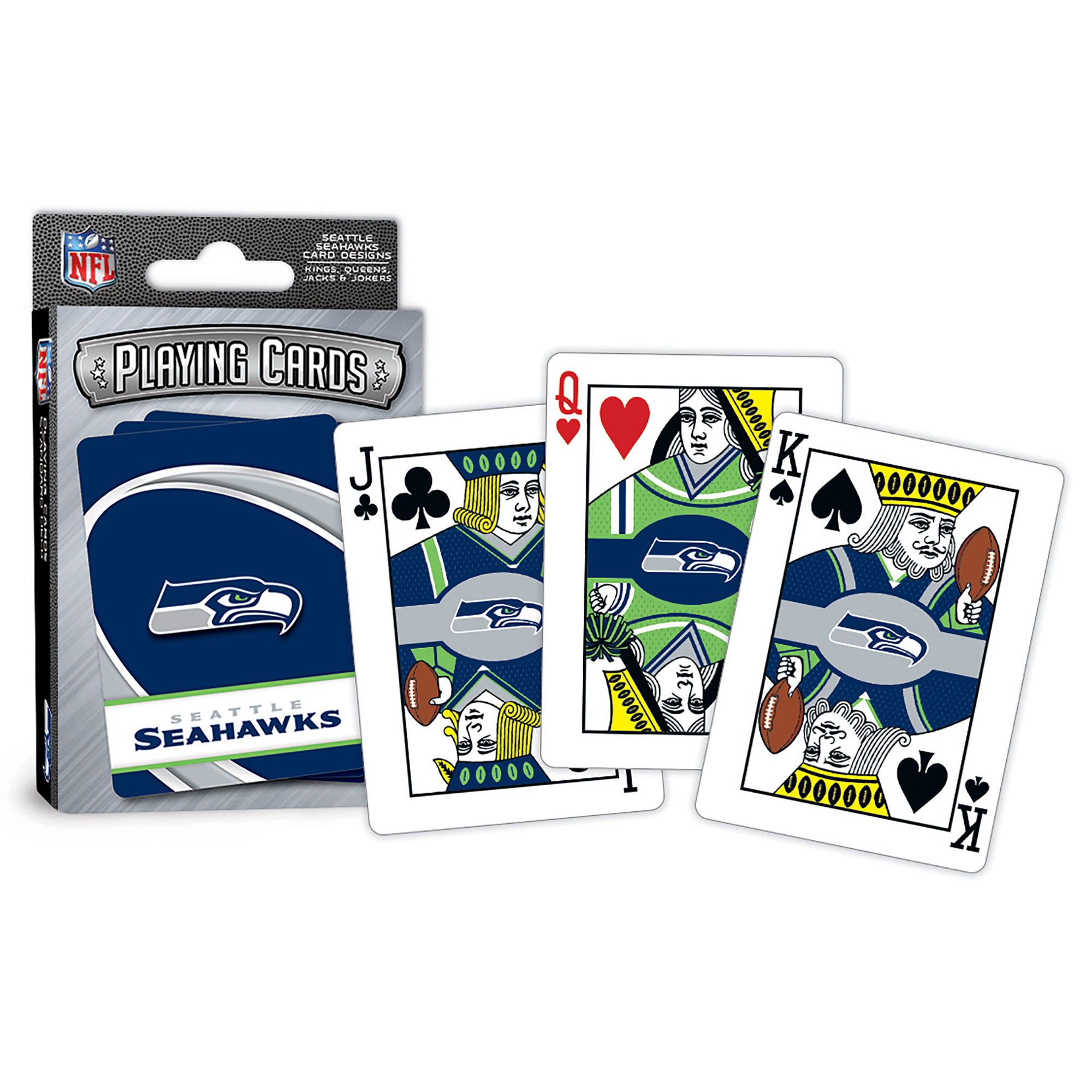 MasterPieces Seattle Seahawks Playing Cards