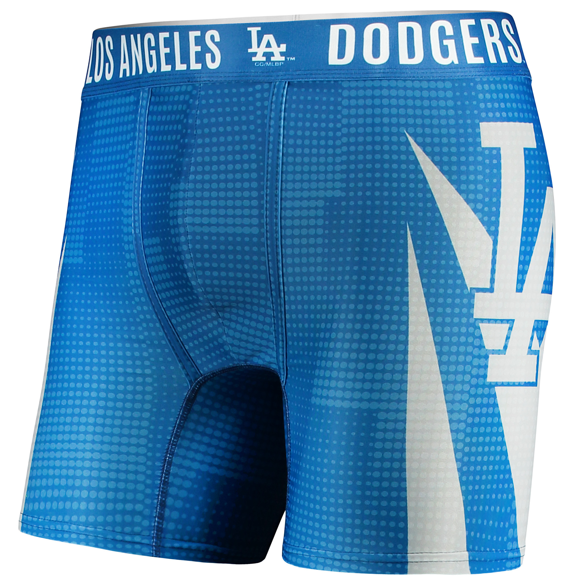 Los Angeles Dodgers Concepts Sport Infuse Boxer Shorts - Royal