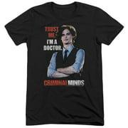Criminal Minds Trust Me Mens Tri-Blend Short Sleeve Shirt