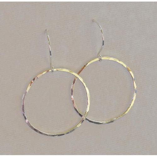 AEB Designs Sterling Silver Fine Silver Ring Earrings