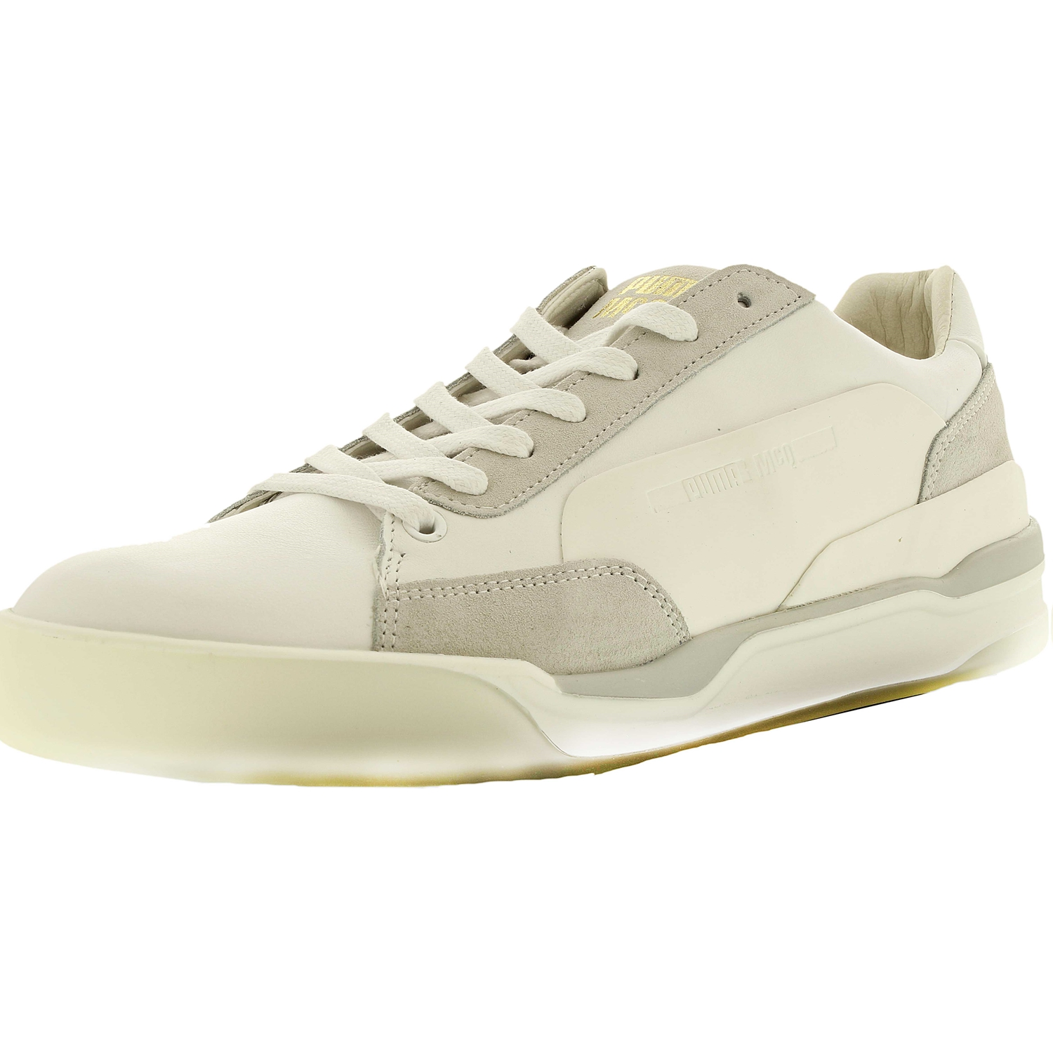 Puma Men's Mcq Move Lo Lace Up White/Puma White/Whisper W...
