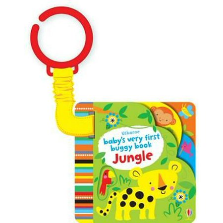 Baby's Very First Buggy Book Jungle (Baby's Very First Books) (Board - Blue Baby Jungle