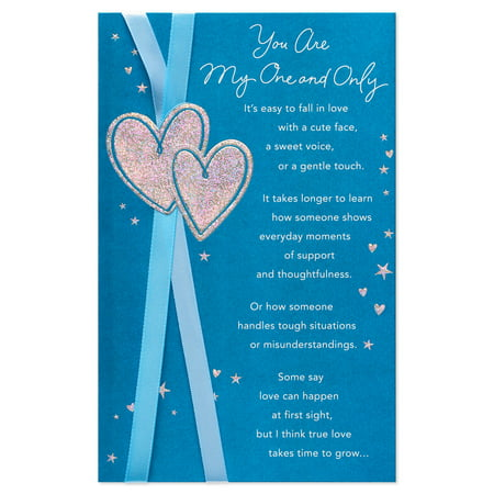 American Greetings One and Only Anniversary Card with Foil