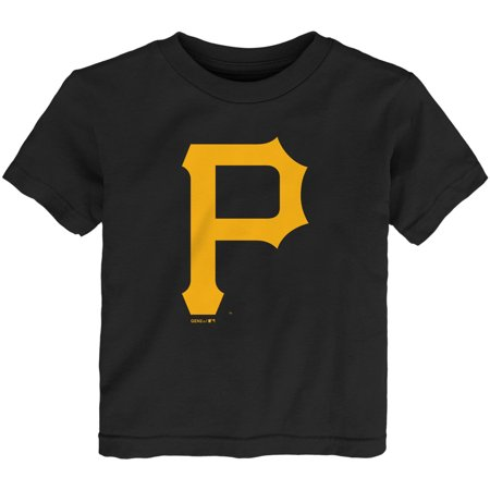 Pittsburgh Pirates Infant Team Primary Logo T-Shirt - Black