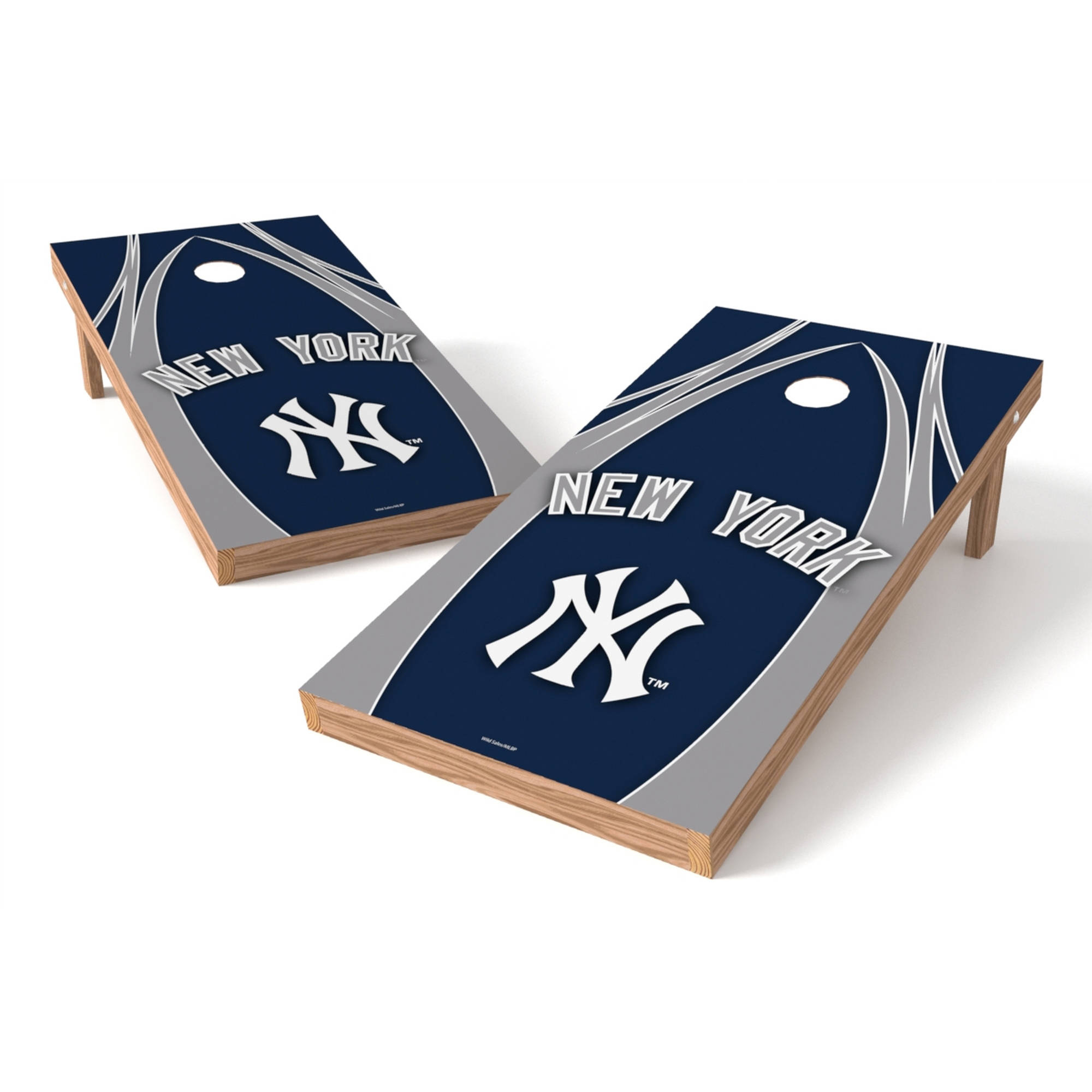 Wild Sports MLB New York Yankees Shield 2x4 V Logo Tailgate Toss XL Game