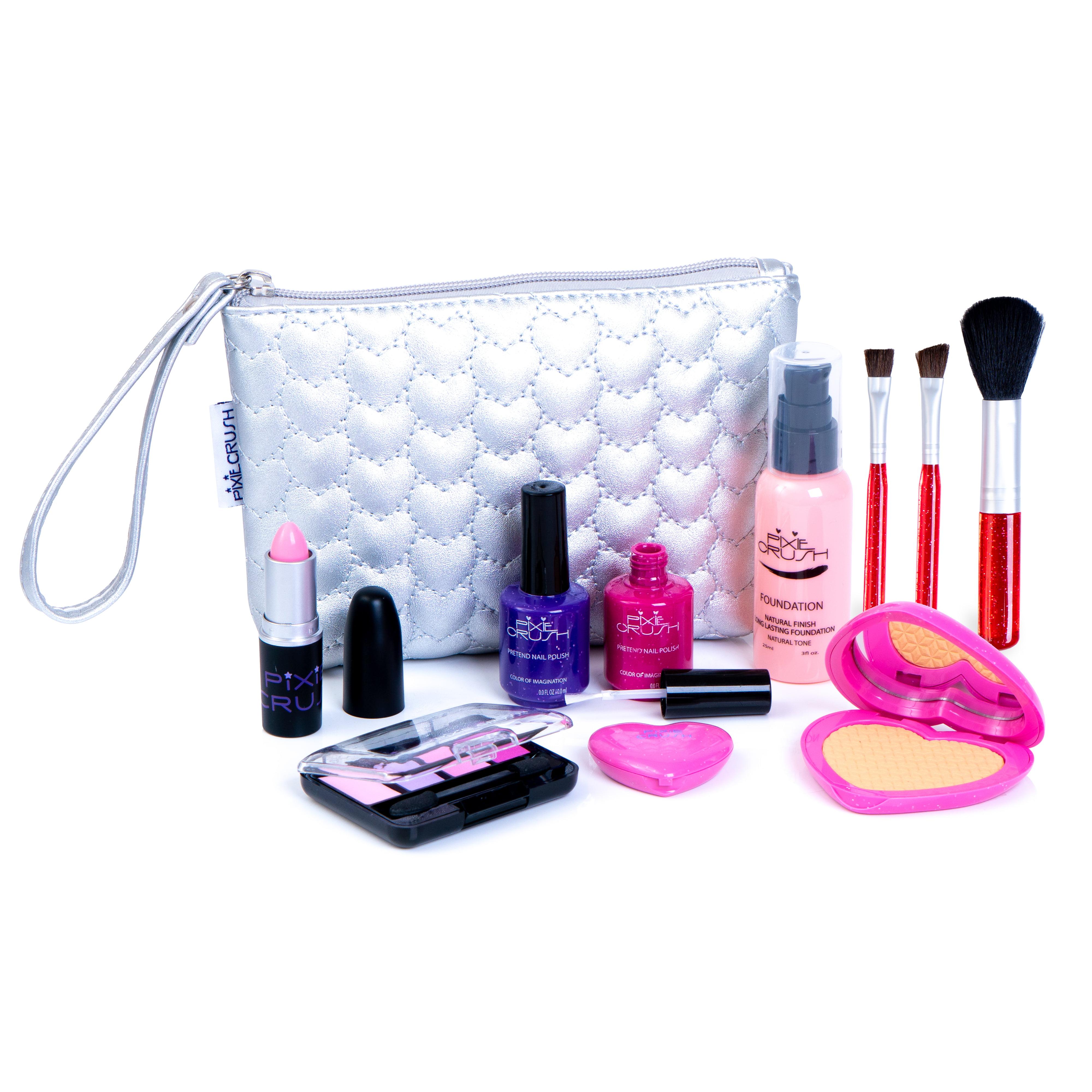 Pixiecrush Pretend Play Makeup Kit Designer Girls Hearts Essential