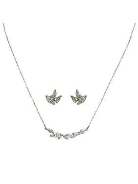 0c94e1dd1ed Product Image Swarovski Louison Necklace and Earrings Set