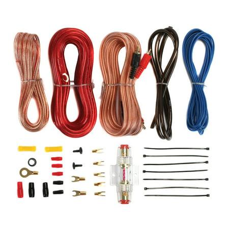 Soundstorm 8 Gauge Car Amplifier Amp Complete Kit Wiring ...