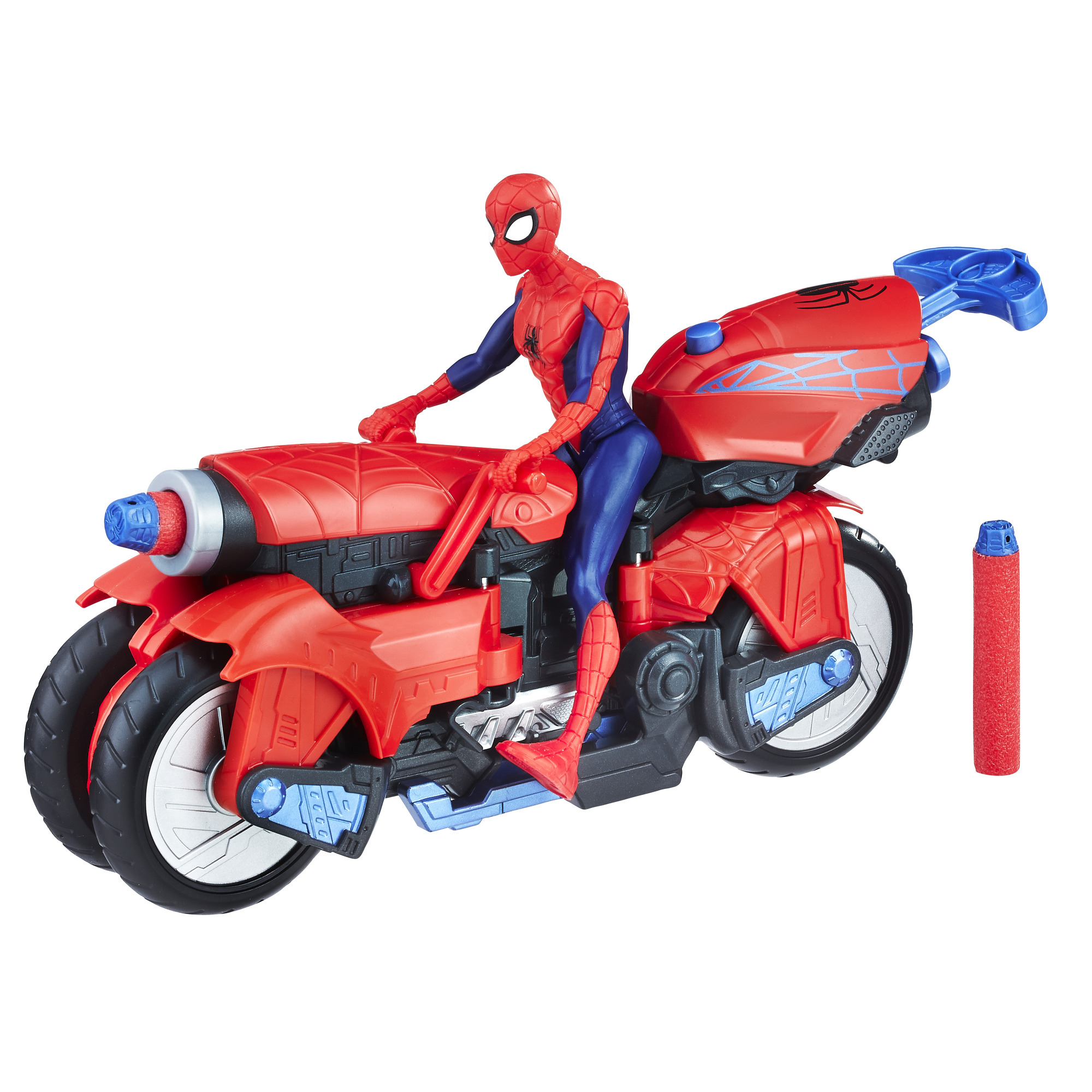 Marvel Spider Man 3 In 1 Spider Cycle With Spider Man Figure