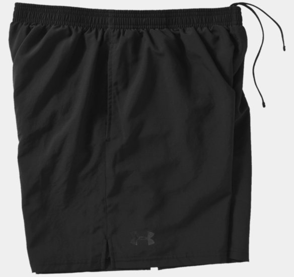 Men's Tactical 6 Training Shorts, Black, Large