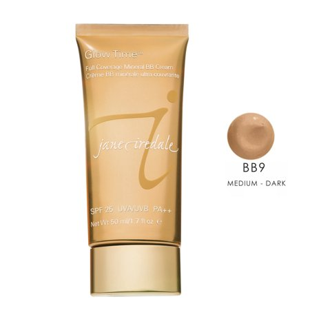 Jane Iredale Glow Time Mineral BB Cream - BB9 (Medium to Dark), 1.7 oz