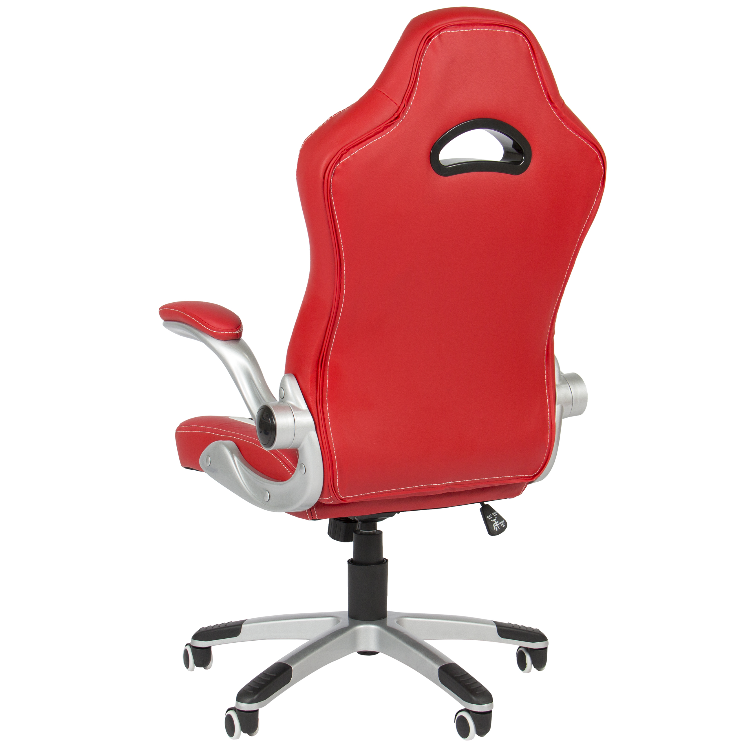 Executive fice Chair PU Leather Racing Style Bucket Desk Seat