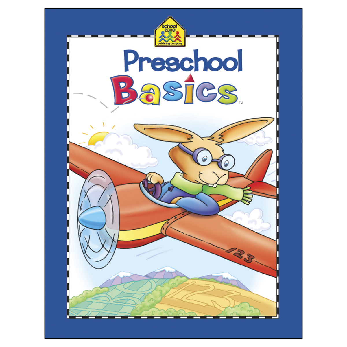 Workbook-Preschool Basics - Ages 3-5