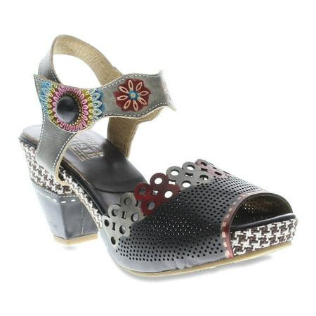 Lartiste By Spring Step Womens Jive Flat Sandal