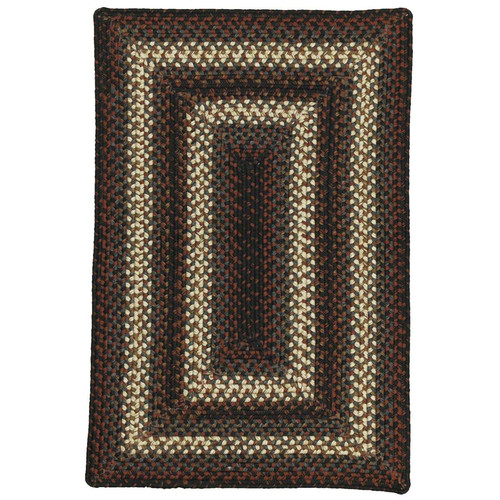 Homespice Decor Montgomery Black Indoor/Outdoor Area Rug