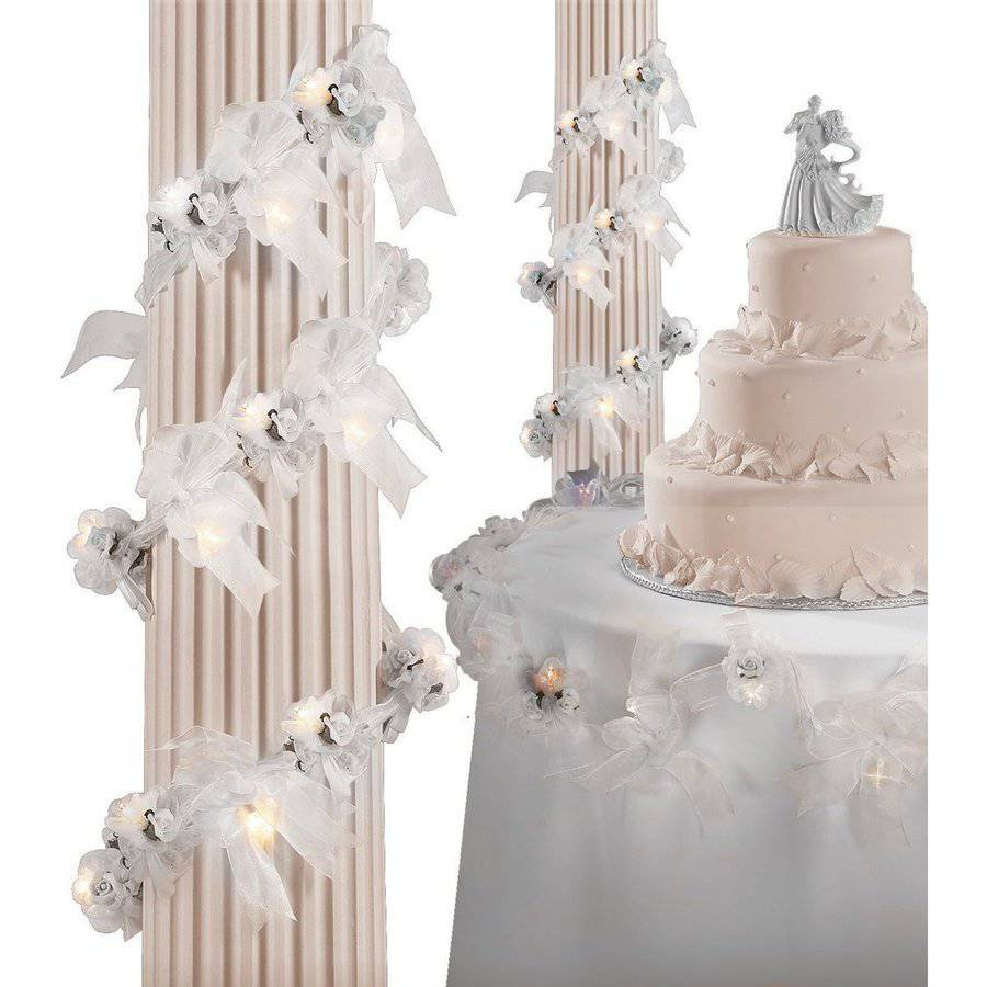 Wilton Organza Small Rose Garland 1006-287