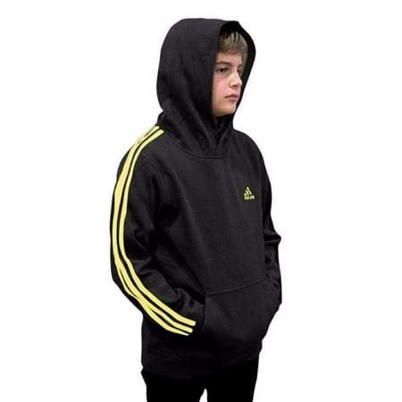 adidas youth fleece collection (youth small 8, fleece pullover hoodie, (Chicago Bulls Youth Adidas Fleece)