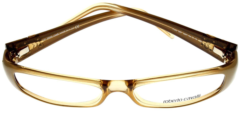 968b7cbac3 Roberto Cavalli Prescription Eyeglasses Frames Womens RC 416 772 Gold Topaz  Jeweled Size  Lens  Bridge  Temple  55-17-135 - Walmart.com