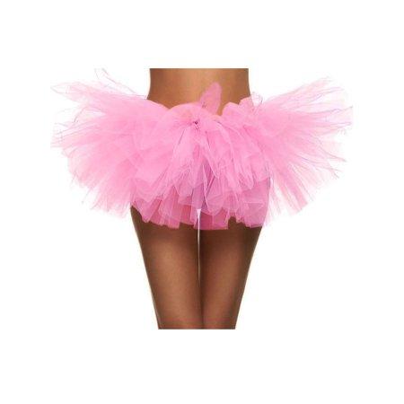 Women 3-Layered Tulle Tutu skirt Halloween Costume Accessory,Light - Tulle Skirt Halloween