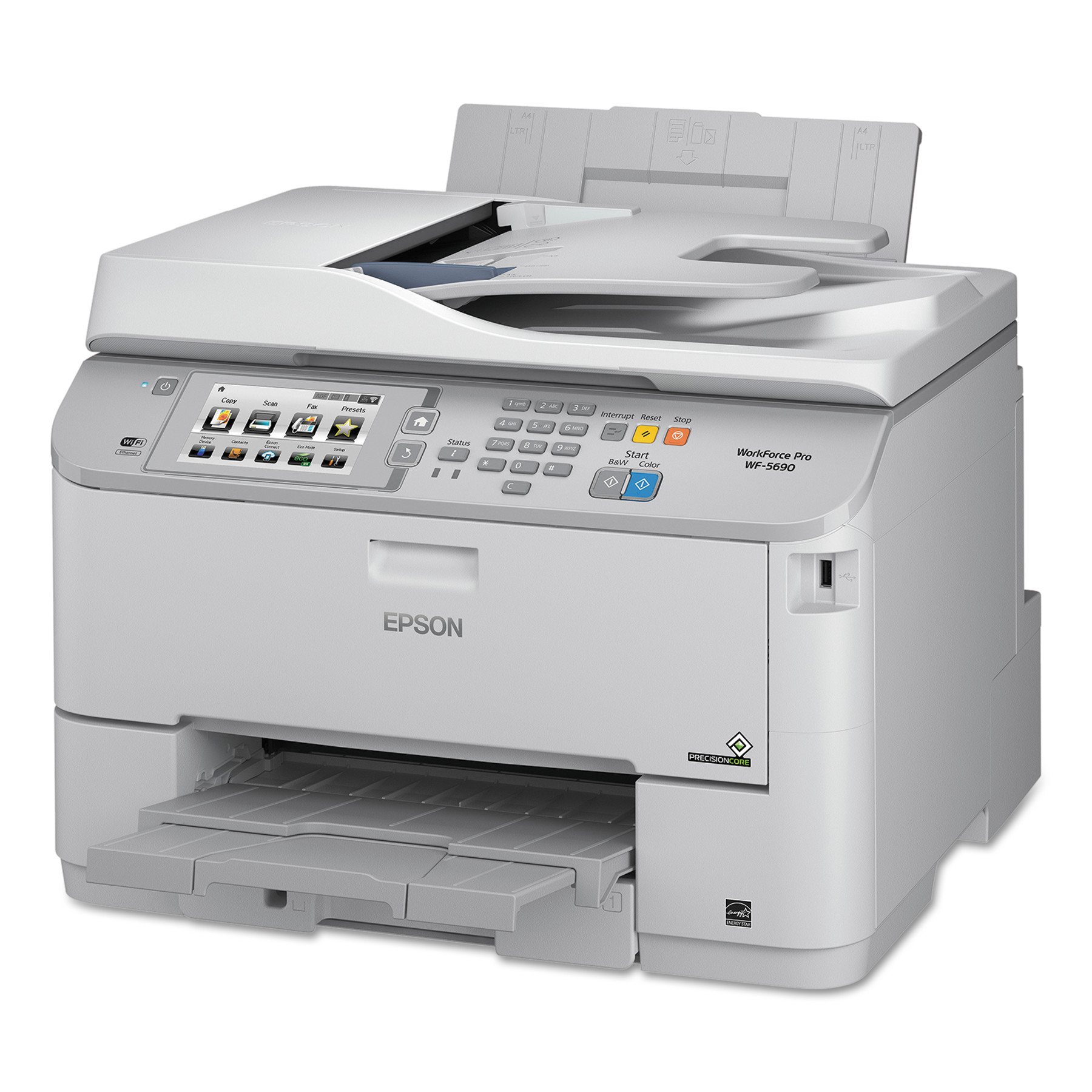 Epson WorkForce Pro WF-5690 Wireless Multifunction Printer, Copy Fax Print Scan by Epson