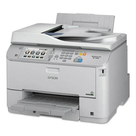 Epson Workforce Pro Wf 5690 Wireless Multifunction Printer  Copy Fax Print Scan