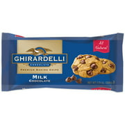 Ghirardelli Chocolate Milk Chocolate Baking Chips, 11.5 oz