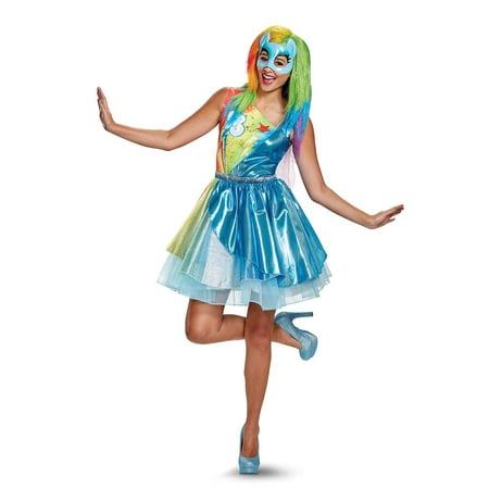 My Little Pony: Rainbow Dash Deluxe Adult Costume (Rainbow Pony Costume)