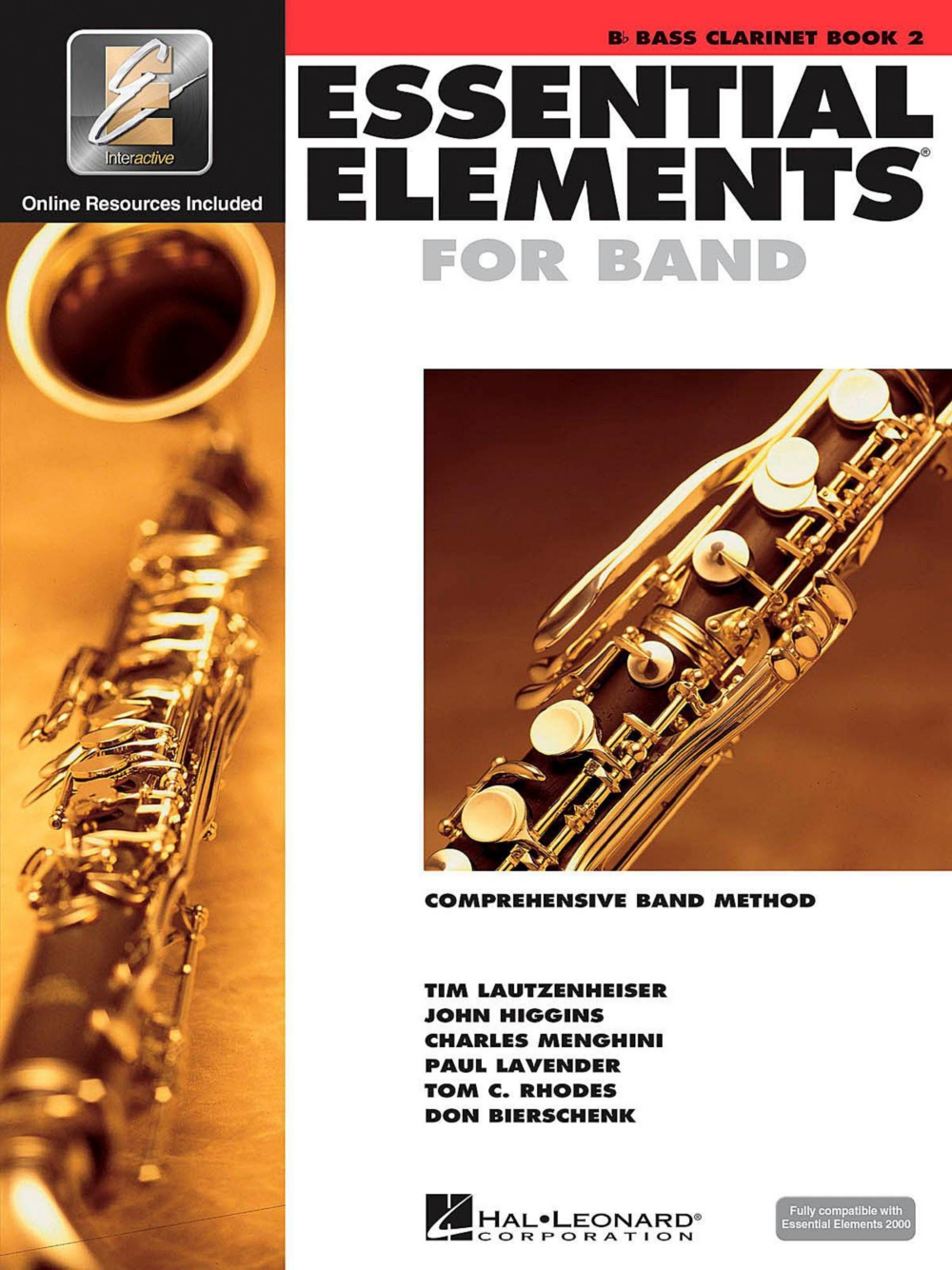 Hal Leonard Essential Elements for Band Bb Bass Clarinet 2 Book Online Audio by Hal Leonard