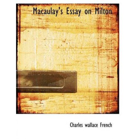 Macaulay's Essay on Milton - image 1 of 1