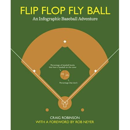 Flip Flop Fly Ball : An Infographic Baseball Adventure