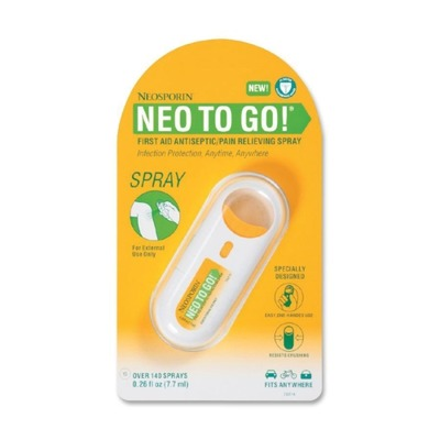 Neosporin NEO TO GO! First Aid Antiseptic/Pain Relieving Spray JOJ512372200
