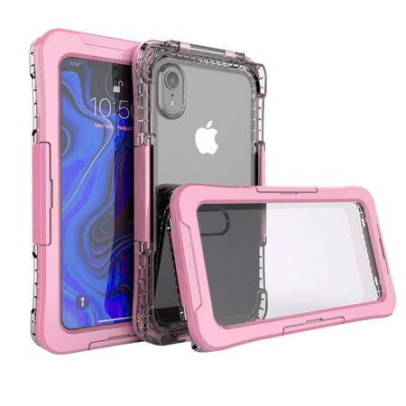 Mignova iPhone XR 6.1 inch case, Full Sealed Waterproof Dust Proof Shockproof Full Body Underwater Cover Case for iPhone XR 6.1 inch case 2019