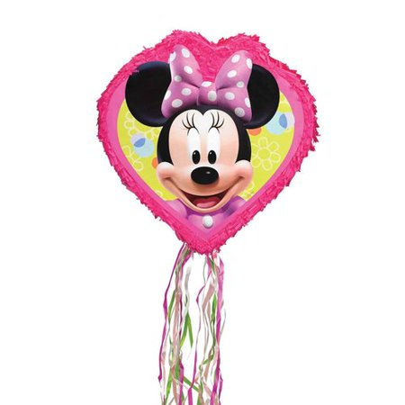 Disney Minnie Mouse Pull String Pinata - Minnie Mouse Pinatas