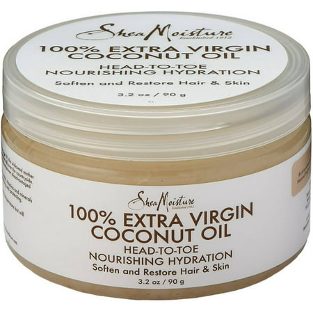 2 Pack - Shea Moisture 100% Extra Virgin Coconut Oil 3.2 oz