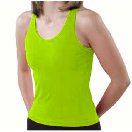 Pizzazz Women Lime MVP Racer Back Top Adult