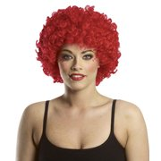 Afro Clown Red Wig
