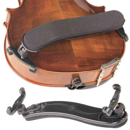 Viva La Musica Standard Black 3/4-4/4 Violin Shoulder Rest - Musica Halloween Terrorifica