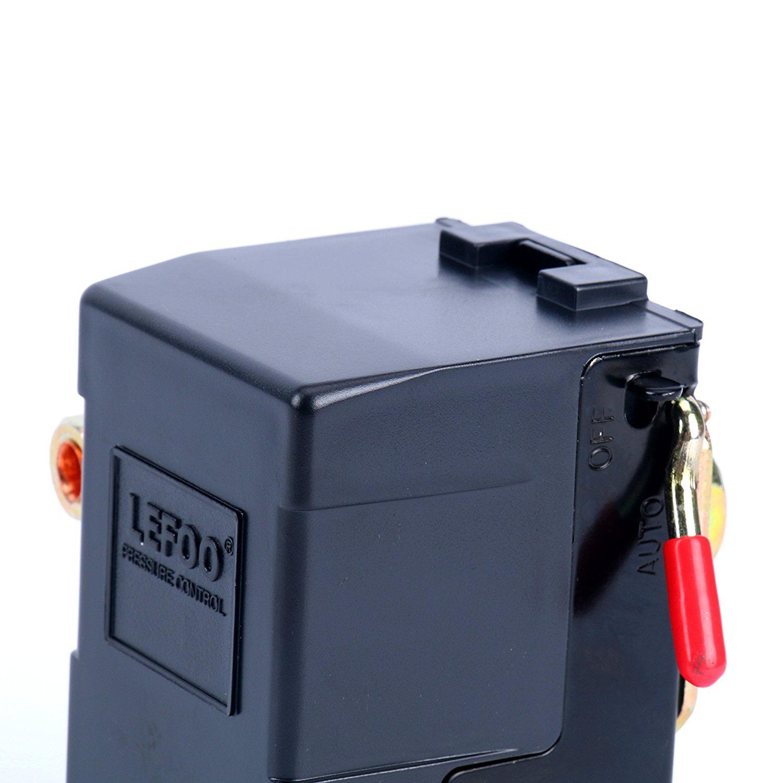 Lefoo Quality Air Compressor Pressure Switch Control Valve 95 125 For Diagram Psi W Unloader Lf10 1h 1 Npt1 4