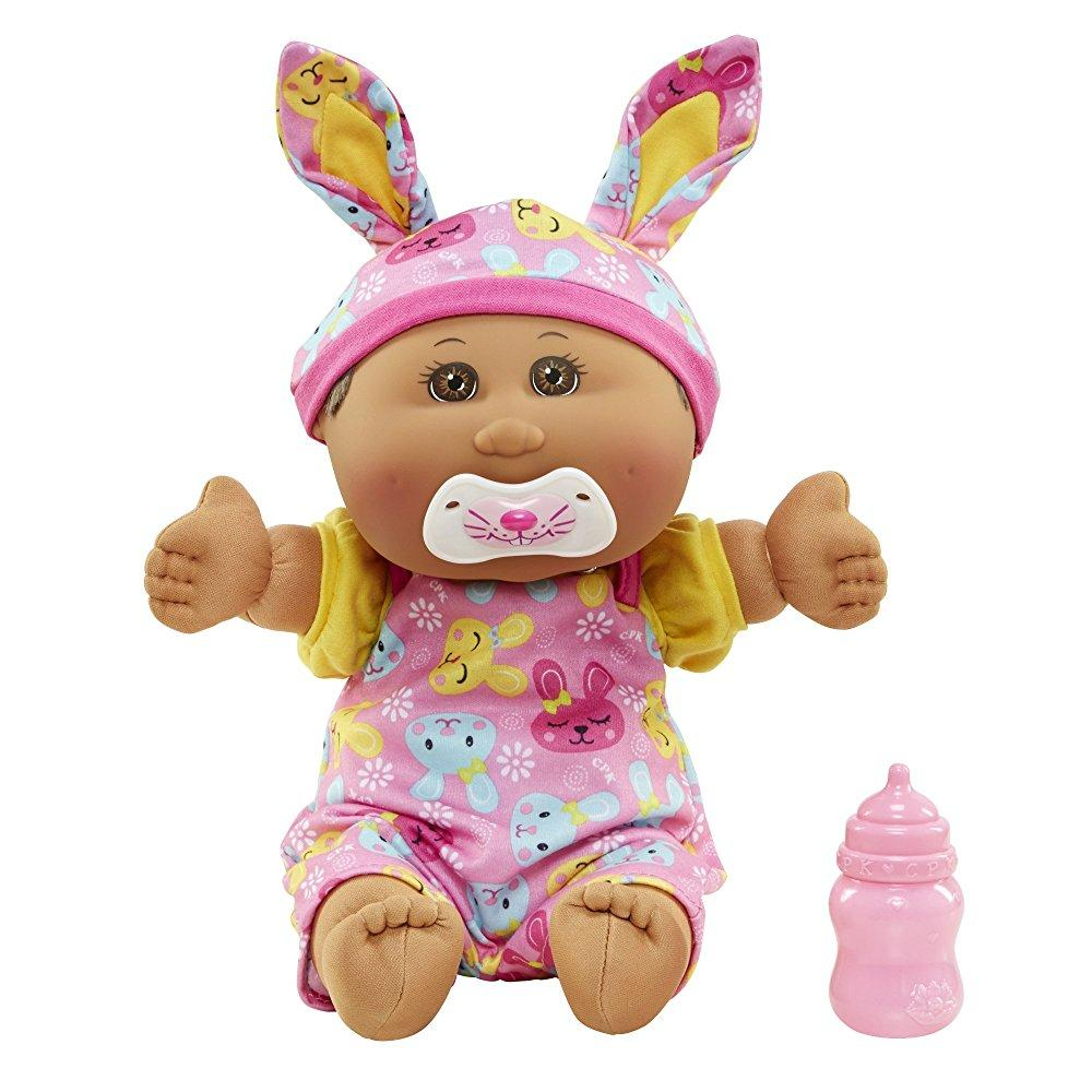 cabbage patch kids 12.5 baby: african american girl doll,...