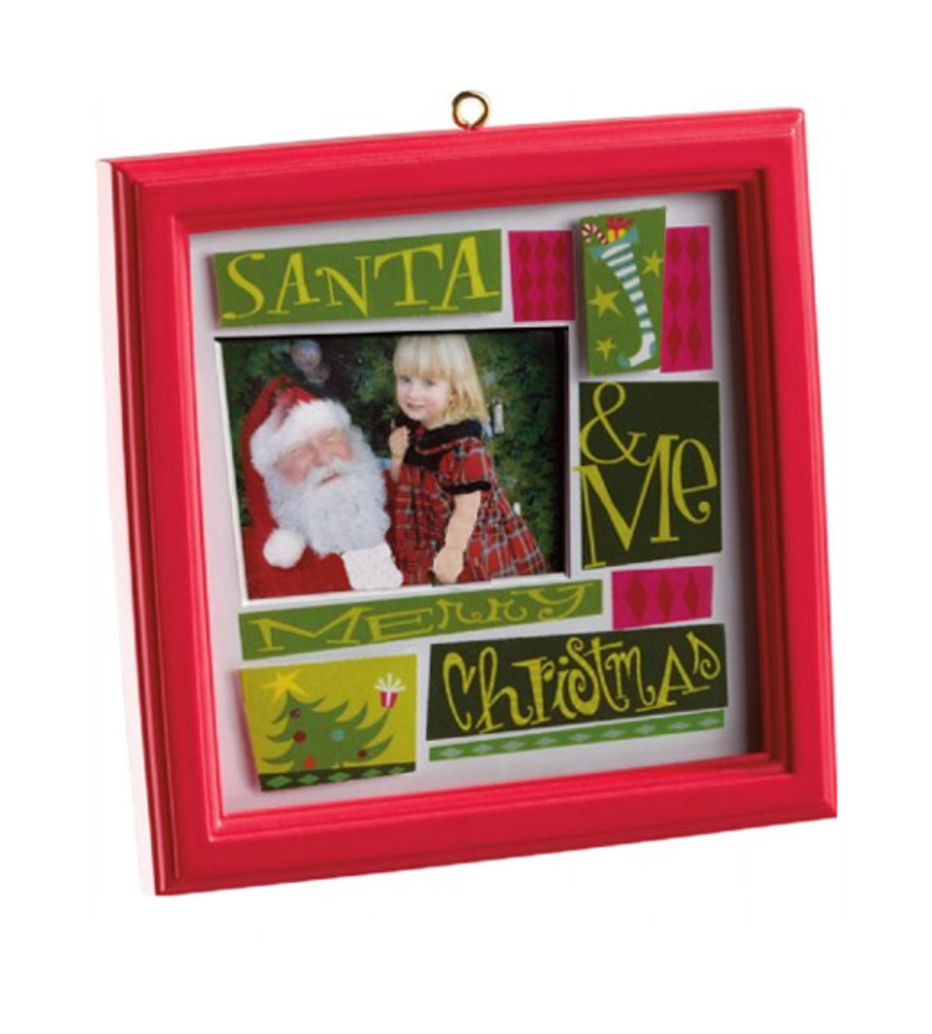 Carlton Cards Heirloom My Family Picture Frame Christmas Ornament