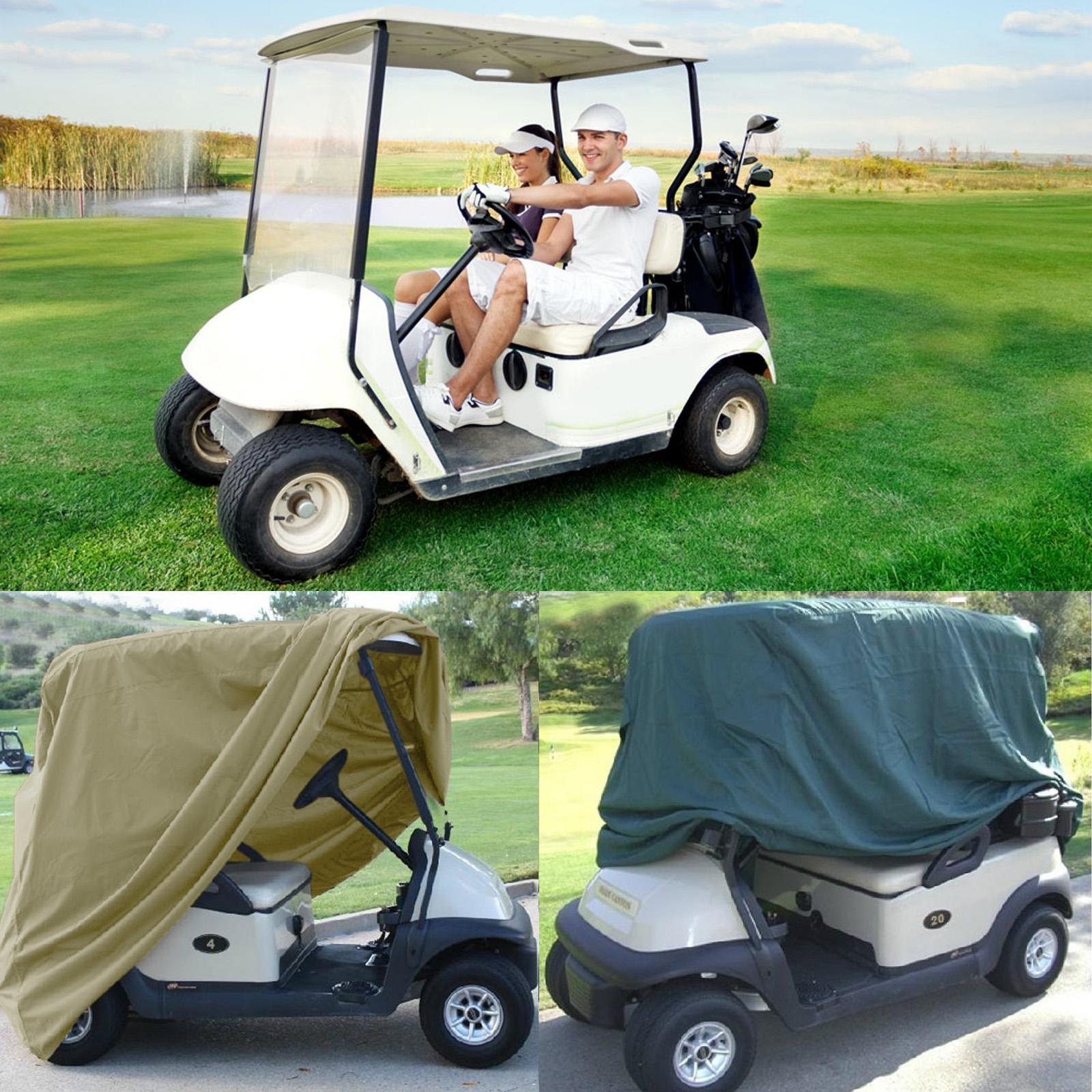 4 Passenger 112'' Golf Cart Cover Enclosure Storage for Y...