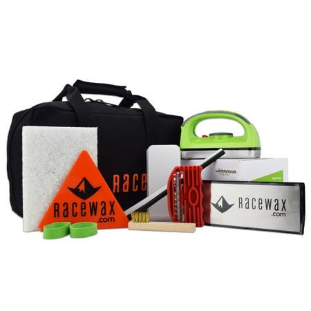RaceWax EZ-Tune Ski Snowboard Wax Tuning Kit (Best Snowboard Tuning Kit)