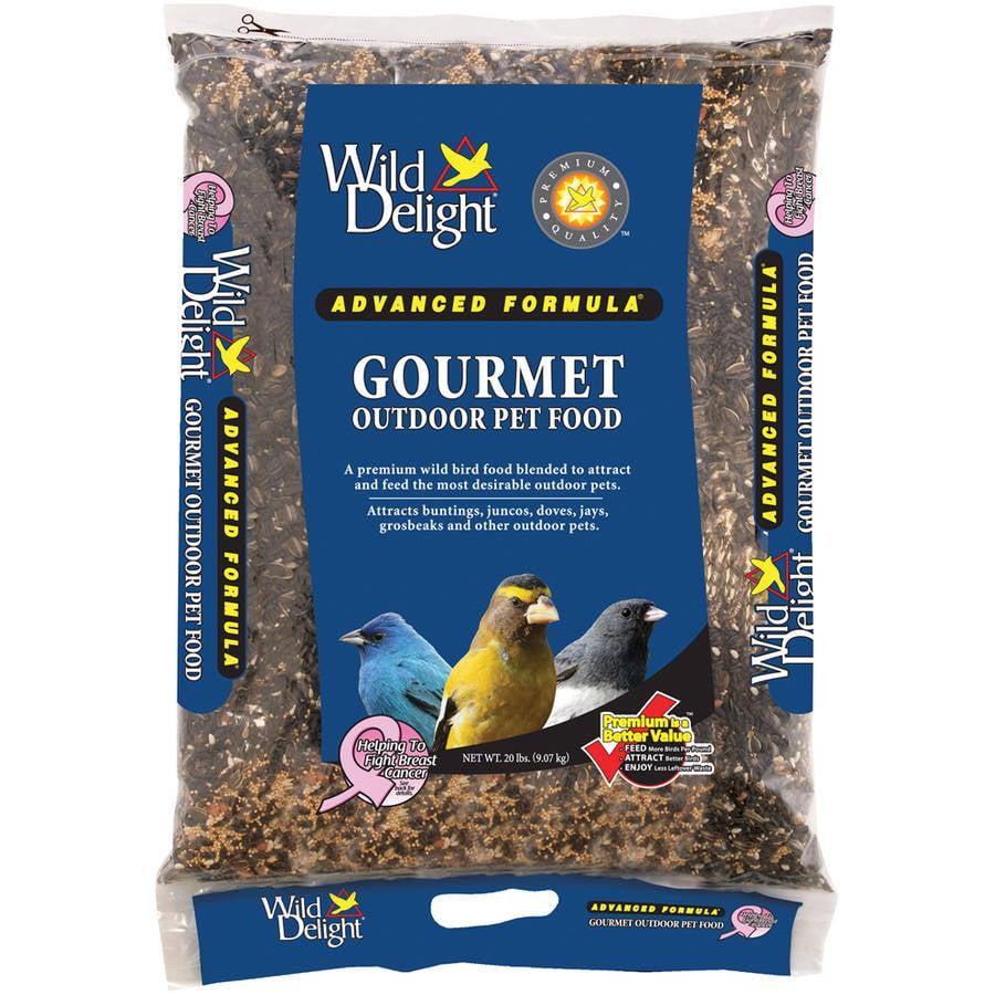 Wild Delight 368200 20 Lb Gourmet Outdoor Pet Food