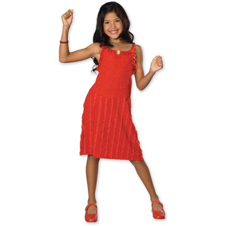Child High School Musical Gabriella Red Dress Rubies 882950 (High School Musical Costume)