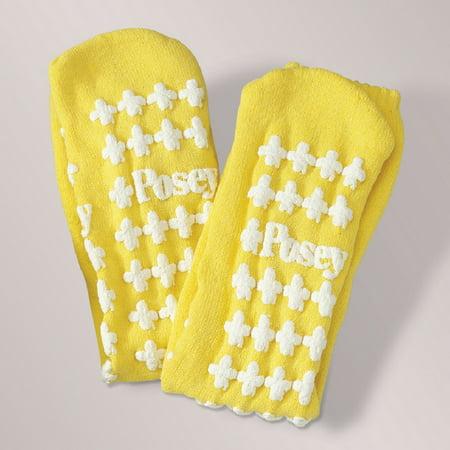 Posey Fall Management Socks- Yellow - Large - 1 Pair