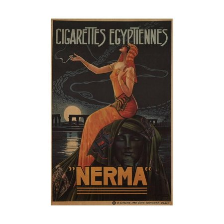 - Egyptian Cigarettes Nerma, 1924 Print Wall Art By Gaspar Camps