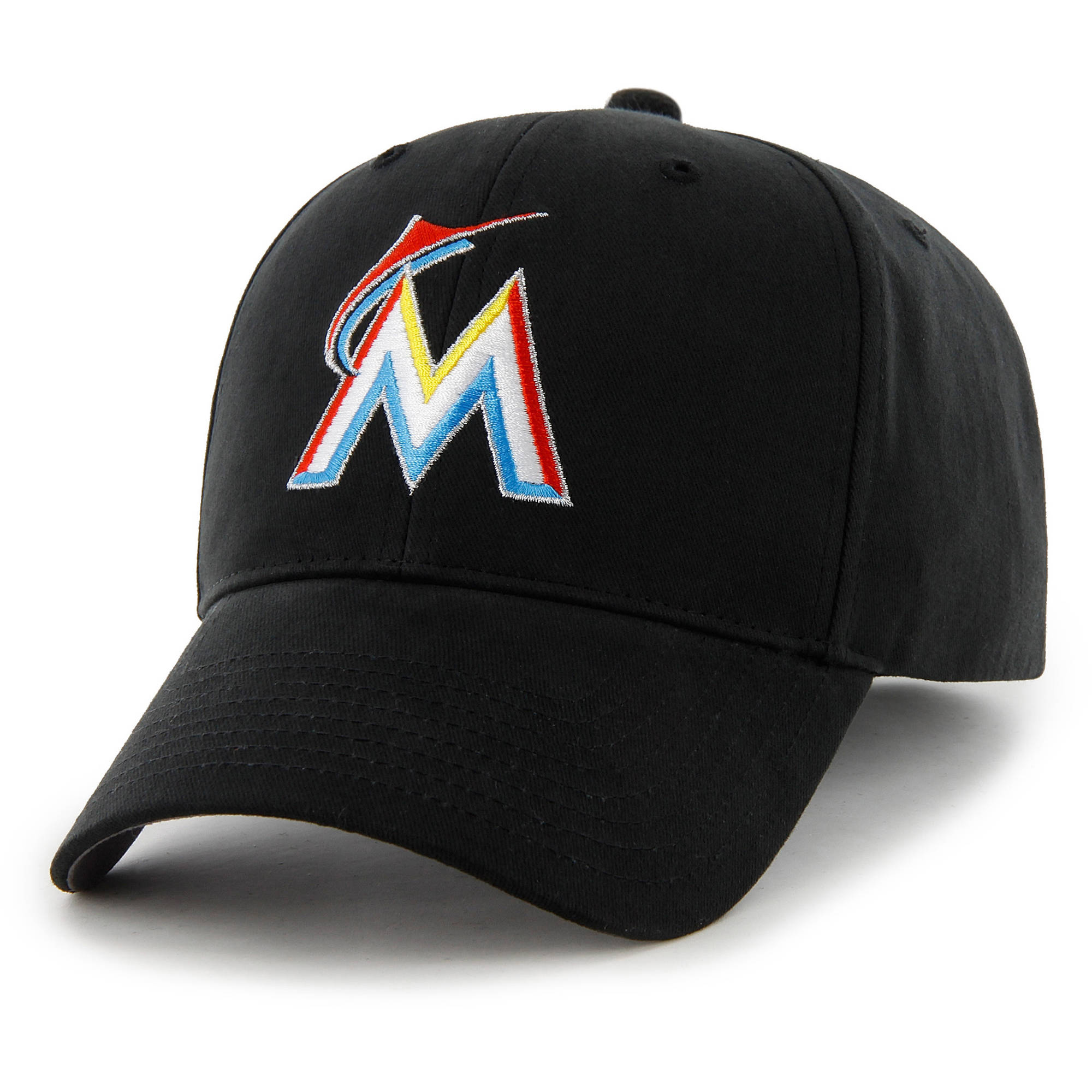 MLB Miami Marlins Basic Cap / Hat by Fan Favorite
