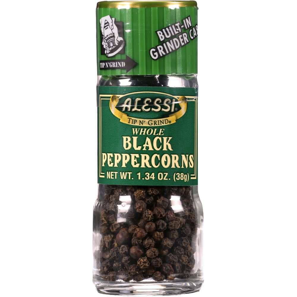 Alessi Black Peppercorn, 1.34 Oz (Pack Of 6) by