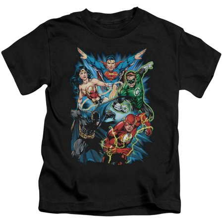 Justice League Assemble Little Boys Shirt (Justice Boys)